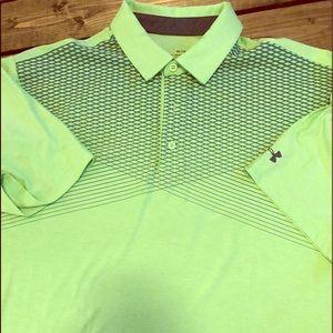 Men's Under Armour golf shirt sz XL